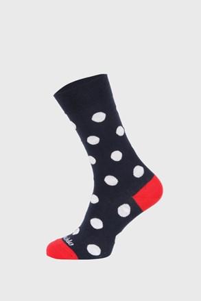 Fusakle zokni, pöttyös