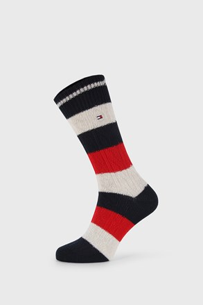 Magas szárú zokni Tommy Hilfiger Cable Rugby