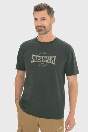 Sötétzöld póló Bushman Gladwin