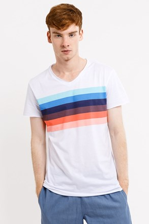 MF Rainbow férfi póló