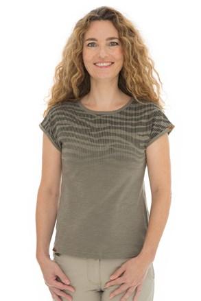 Bushman Kira női khaki póló
