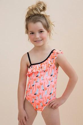Flamingo egyrészes lányka fürdőruha