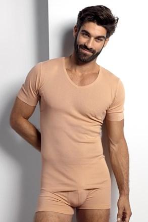 Férfi testszínű póló