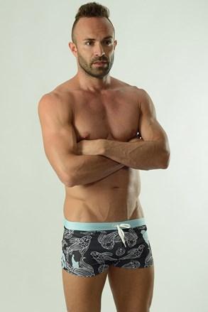 GERONIMO Cyprinus boxerszabású férfi fürdőnadrág