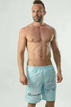Cyprinus férfi fürdősort, türkiz