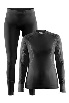 CRAFT Seamless Zone női funkcionális szett, fekete