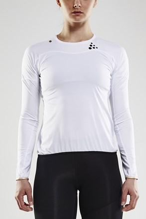 CRAFT Run Shade LS póló, fehér
