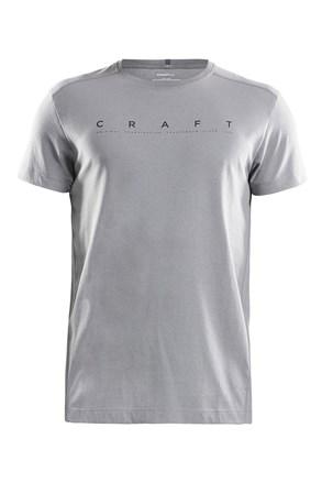 CRAFT Deft férfi póló szürke