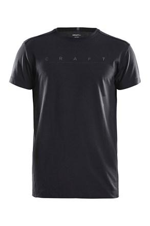 CRAFT Deft férfi póló fekete