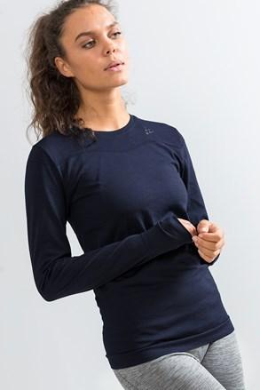Craft Fuseknit Comfort női póló, sötétkék