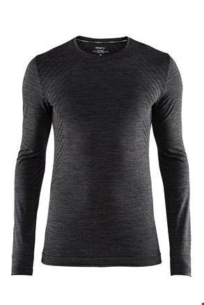 Craft Fuseknit Comfort férfi póló sötétszürke