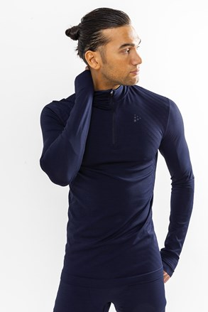Craft Fuseknit Comfort Zip férfi póló