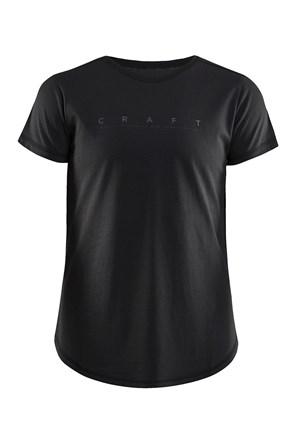 CRAFT Deft női póló, fekete