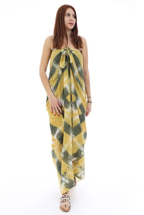Emily strandkendő, sárga-zöld