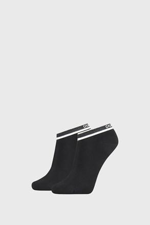 2 PÁR fekete női zokni Calvin Klein Spencer