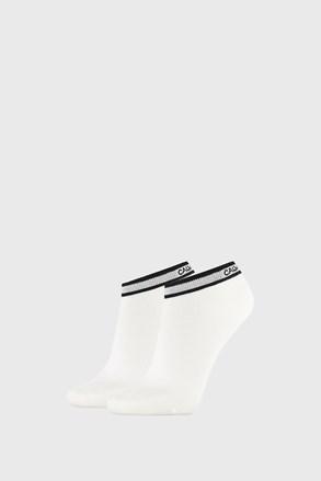 2 PÁR Calvin Klein Spencer fehér női zokni
