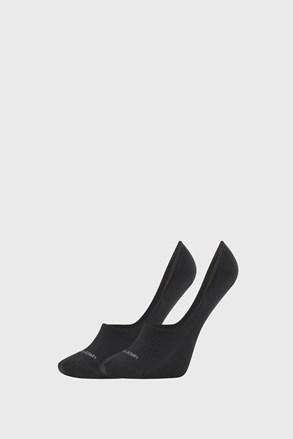 2 PÁR Calvin Klein Jessica fekete női zokni