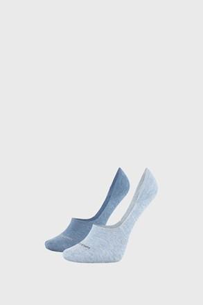 2 PÁR Calvin Klein Jessica kék női zokni