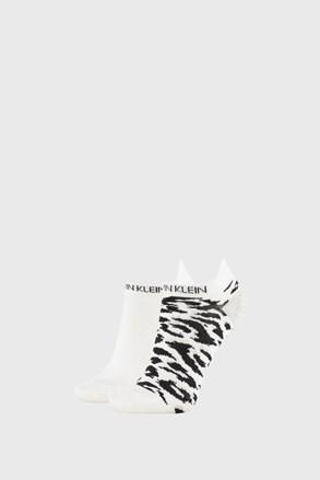 2 PÁR Calvin Klein Libby fehér női zokni