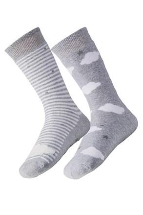 Cloud meleg női zokni, 2 pár 1 csomagban