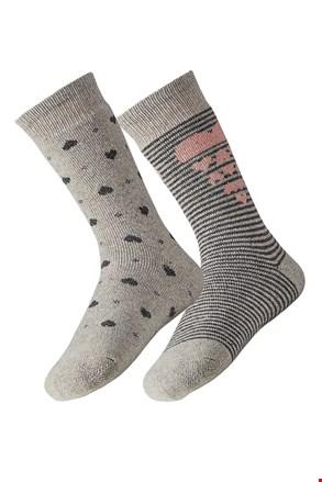 Angora női zokni, 2 pár 1 csomagban