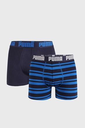2 DB kék boxeralsó Puma Heritage Stripe