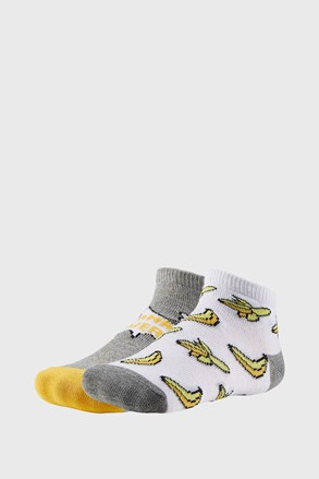 2 PÁR Bananas fiú zokni