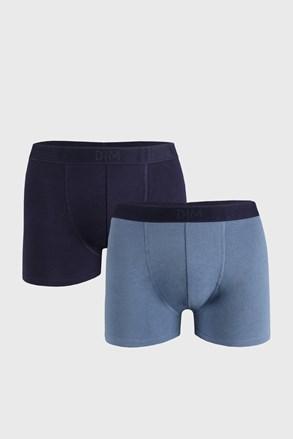 2 DB kék boxeralsó DIM Soft