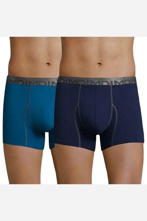 DIM Cotton 3D Flex Blue férfi boxeralsó, 2 db 1 csomagban