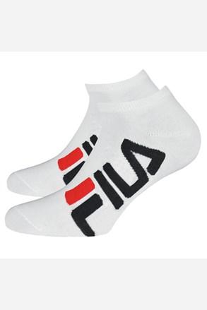 Fehér színű FILA alacsony férfizokni, 2 pár 1 csomagban