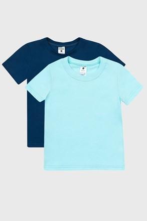 2 DB kék fiú póló