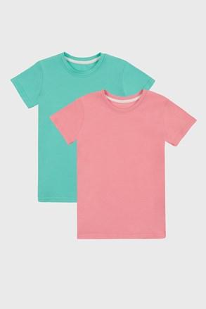 2 DB lányka basic póló