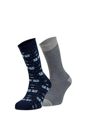 Wendy meleg zokni, 2 pár 1 csomagban