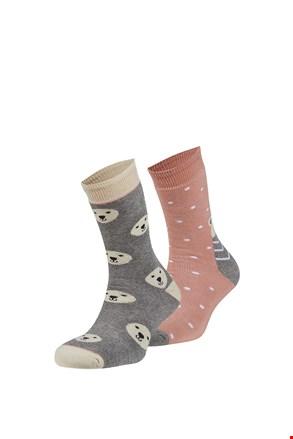 Rubí meleg zokni, 2 pár 1 csomagban