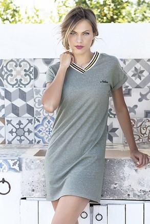 Corfu nyári női ruha, khaki