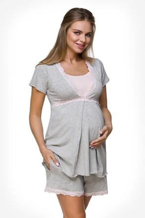 Lisa kismama pizsama, szoptatáshoz is