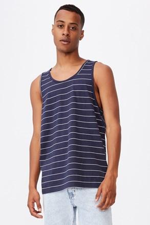 Kék csíkos alsó trikó Chad