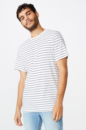 Csíkos férfi póló Jael