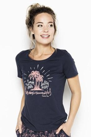 Palm trees női pizsama póló
