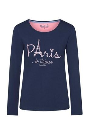Paris női pizsama póló