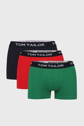 Tom Tailor II férfi boxeralsó, 3 db 1 csomagban