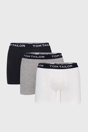 Tom Tailor férfi boxeralsó hosszabb nadrágszárakkal, 3 db 1 csomagban