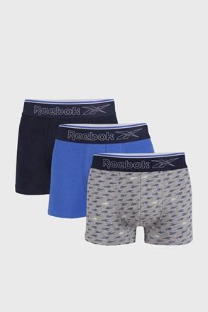 3 DB kék boxeralsó Reebok Corey