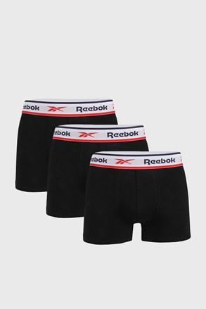 3 DB fekete boxeralsó Reebok Jonath