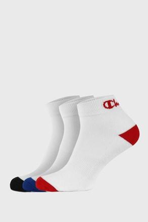 Champion alacsony fehér zokni, 3 pár 1 csomagban