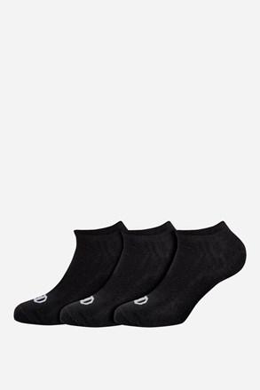 Champion alacsony fekete sport zokni, 3 pár 1 csomagban