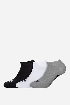 Champion alacsony színes sport zokni, 3 pár 1 csomagban