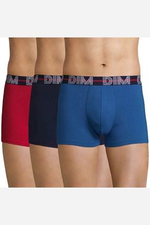 DIM férfi boxeralsó színes, 3 db 1 csomagban