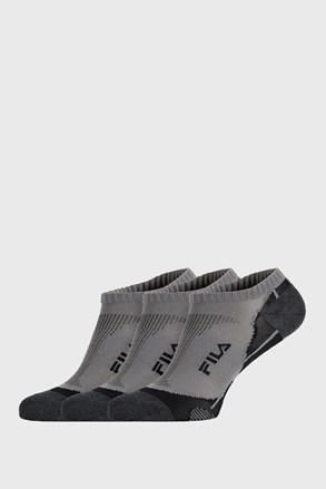 3 PÁR szürke zokni FILA Invisible