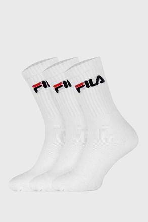 FILA fehér magas férfi zokni 3 pár 1 csomagban